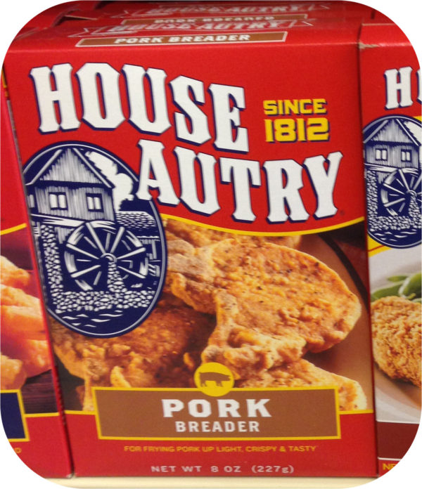 House Autry Pork Breader Mix Flour Ham Batter Chops Butt BBQ Wheat Corn Flour-0