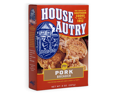 House Autry Pork Breader Mix Flour Ham Batter Chops Butt BBQ Wheat Corn Flour-20334