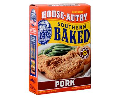 House Autry Southern Pork Pork Breader Mix Flour Ham Batter Chops Butt BBQ-20336