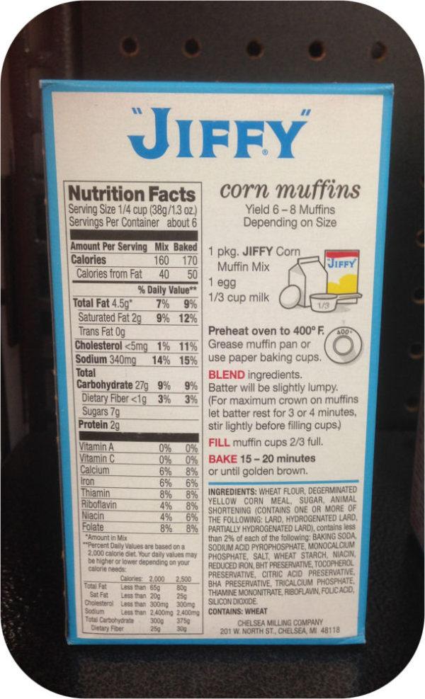 America's Favorite Jiffy Corn Muffin Mix 8.5 Oz Box Cornbread Fritters-20726