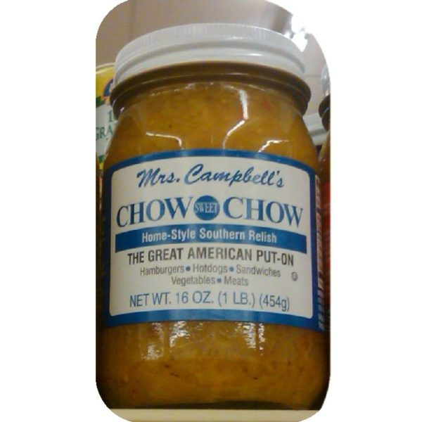 Mrs Campbell's Chow Chow Onion Pickle Relish Hot Dog-0