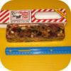 Old Fashion Claxton Regular Fruitcake 1 pound Fruit Cake Holiday Walnuts Log-19415