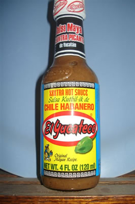 El Yucateco Extra Hot Chile Habanero Sauce KutBil-Ik-0