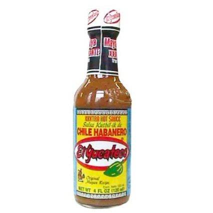 El Yucateco Extra Hot Chile Habanero Sauce KutBil-Ik-17331