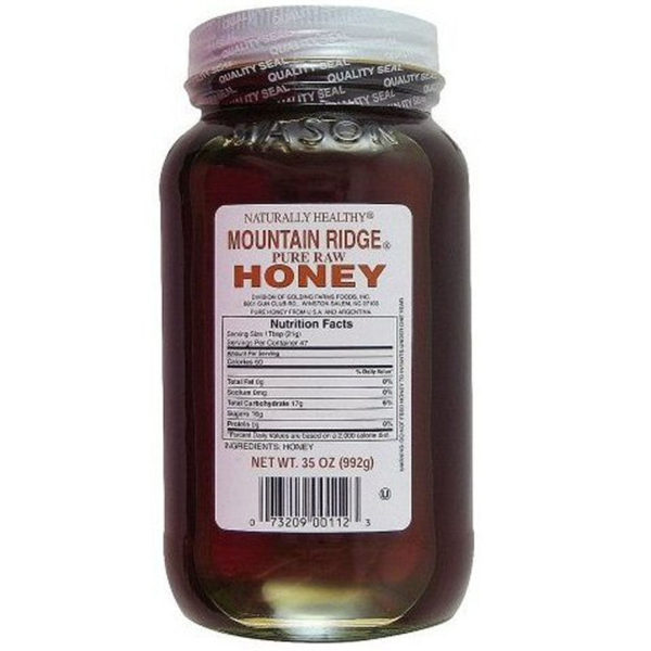 Mountain Ridge 35-oz. Pure Raw Honey Naturally Healthy-0