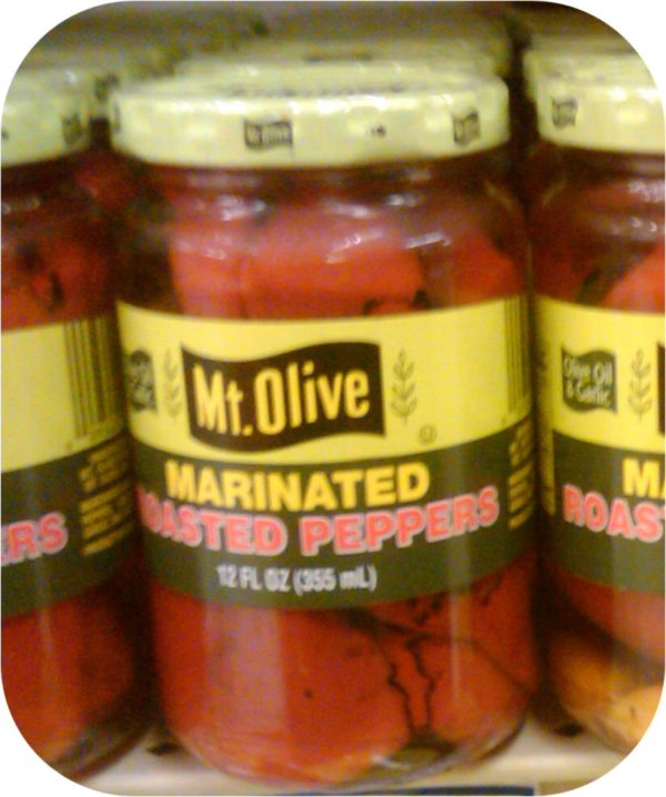 Mount Olive Marinated Roasted Peppers 12 oz Red Bell-0
