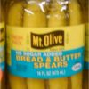 Mount Olive Bread and Butter Spear Pickles 16 oz Mt-0