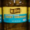 Mount Olive No Sugar Added Sweet Gherkins Pickles 16 oz-0