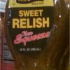Mt Olive Sweet Pickle Relish 10 oz Hot Dog Sweet Cubes-0