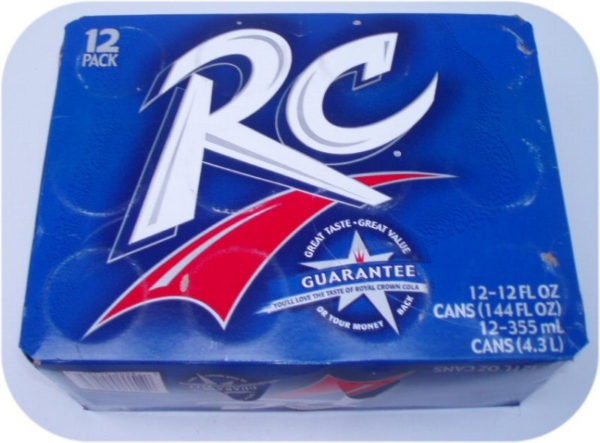 12 pack of RC Cola Cans Royal Crown soft soda pop drink-0