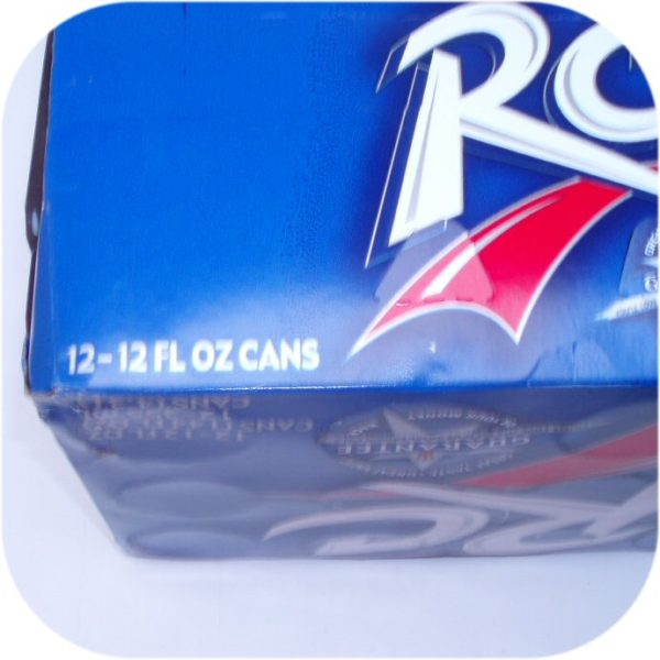 12 pack of RC Cola Cans Royal Crown soft soda pop drink-9109