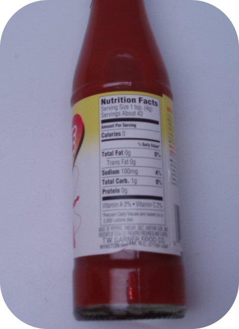 Texas Pete Hot Sauce Pepper Wing 6 oz Bottle Tabasco Chilli Vinegar Eggs Grits-9118