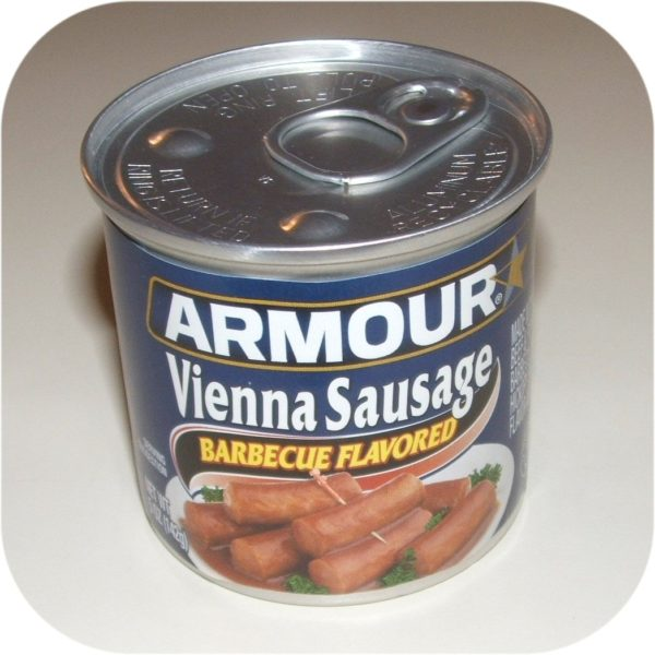 Barbecue Armour Star Vienna Sausage 5 oz Can Meat BBQ-0